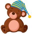 Sweet teddy bear vector image vector image