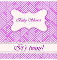 Baby-shower-abstract-background-twins-2 vector image