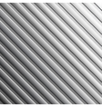 Striped metal background vector image
