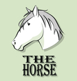 horse 3 vector image