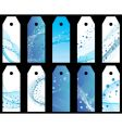 Water bookmarks set vector