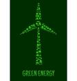 Green Energy eco environment poster vector image