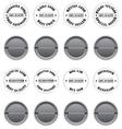 Badges sale label vector image