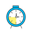clock design to know the time vector image