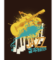Jazz music festival poster vector image