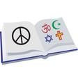 Peace Religion vector image