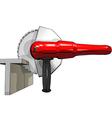 grinding wheel vector image