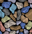 background with colorful stones vector image vector image