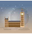 the Big Ben vector image