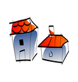 A house vector image vector image