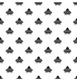 alien spaceship pattern vector image