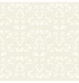 vintage ornate seamless pattern vector image