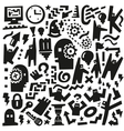 Thinking Doodles vector image