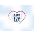 Happy Australia day design vector image