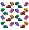 Small cars vector image