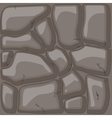 Brown stone background vector image