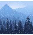 Mountain3 vector image