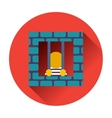 prisoner icon vector image