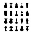 Different slyle of vases vector image