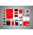 business template vector image