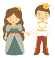 Fairy couple vector image