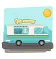 ice cream flat vector image