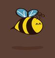 Little bee vector image