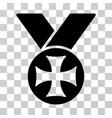 maltese medal icon vector image