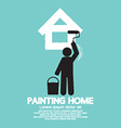 Painting Home Concept vector image