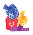 gifts vector image