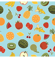 fruit patterns vector image vector image
