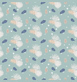 pinecone seamless pattern vector image