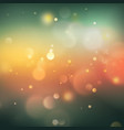 green bokeh abstract background eps 10 vector image