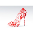 stiletto pattern vector image