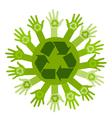 Conceptual ecology vector image vector image