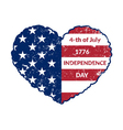 Independence Day Flag-12 vector image