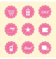Set of internet shop icons vector image