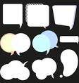 Speech frame vector image vector image