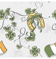Seamless texture for St Patricks Day vector image