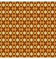 An orange seamless pattern background with a cubic vector image