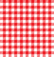 red table cloth background seamless pattern vector image