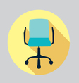 icon of a chair Office chair vector image