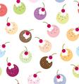 Seamless Ice Cream vector image