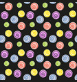 lollipop candy seamless pattern vector image