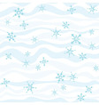 Winter pattern abstract background vector image