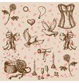Doodle valentine vector image
