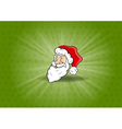 santa claus background vector image vector image