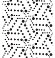 geometric seamless pattern Modern circle texture vector image