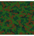 Digital camouflage pattern 2 vector image
