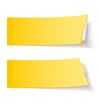 Sticky Papers vector image vector image